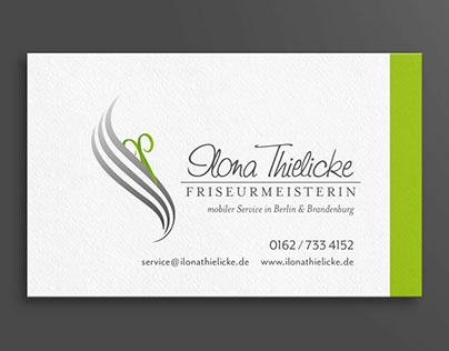 hairstylist brand identity - design