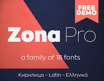 Zona Pro Type Family (Free Demo)