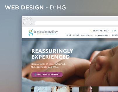 Web design for Dr Malcolm Godfrey