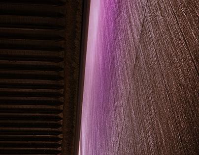 Rainy wall