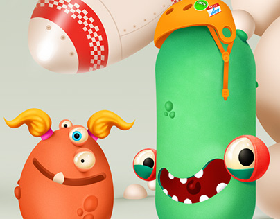 Dettol - Ugly Bacteria
