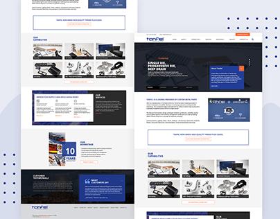 Tanfel - Corporate Website