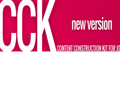 Content Construction Kit - component of creating site
