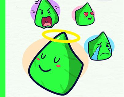 Lapet Cute Sticker on Line