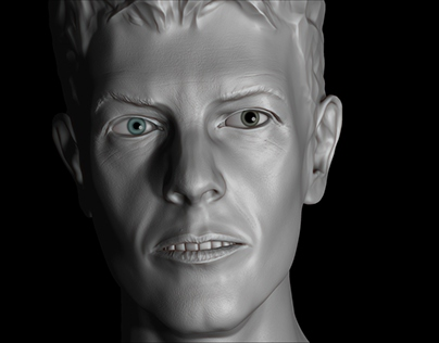 David Bowie. Sculpting