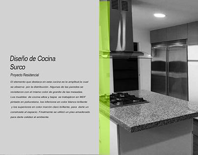 Diseño de Cocina Año 2017