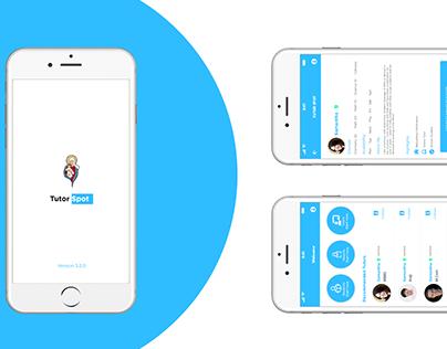 Tutor App Design