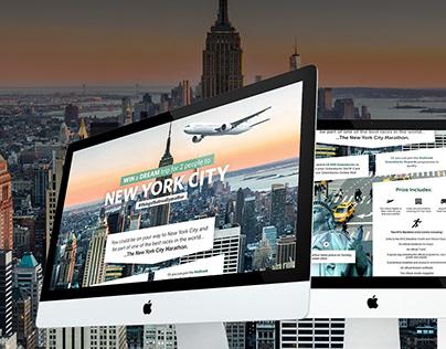 UI New York Marathon Nedbank Competition Page