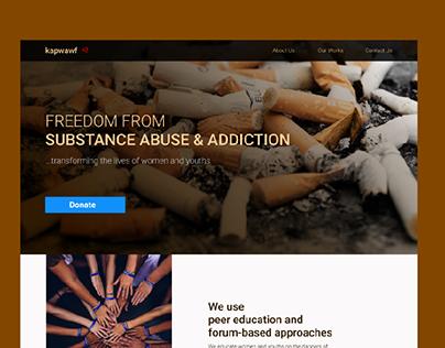 Website Design for Kapwa Wellness Foundation