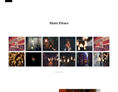 Lights On Lights - Responsive Landing Page