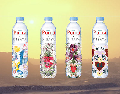 DisayaxPurra : Packaging Illustration