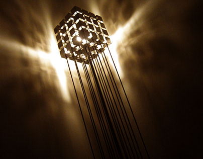 Lighting Design - Stainless Steel Lamps