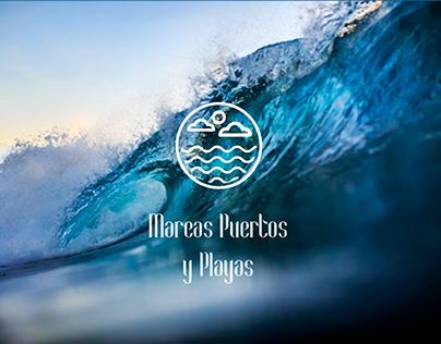 Mareas Puertos y Playas