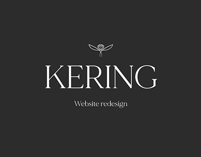 Kering website redesign