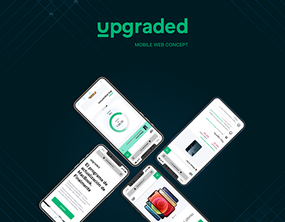 Upgraded Web Mobile Concept
