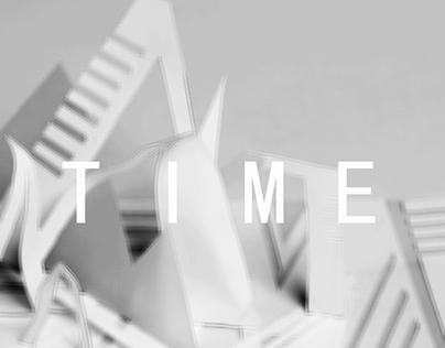 "paper sculpture---""TIME"""