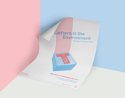 Letters in the Environment: Exhibition Poster Design