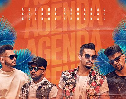 Agenda Grupo Jaé Samba - JUNHO
