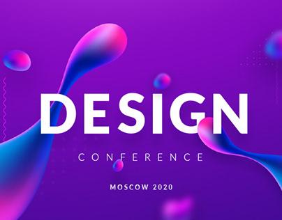 Design Conference Landing Concept