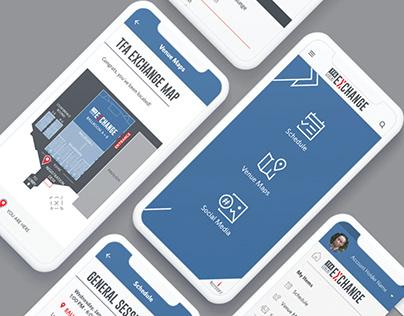 TFA Exchange 2019 App UI/UX Redesign Concept