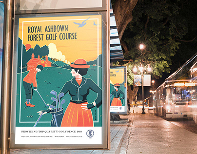 Royal Ashdown Forest Golf Club | Commission Poster