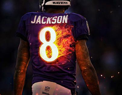 Lamar Jackson Speedart