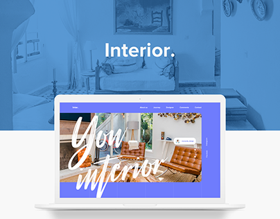 Interior design | Landing page | Home page