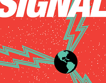"""""""The Signal"""" digital book cover"""