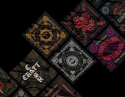 Mouse Calligraphy Collection Vol 3: Bandanas