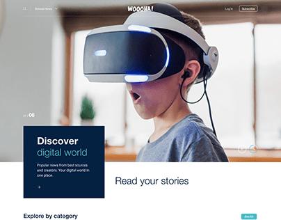 WOOOHA! Website Concept