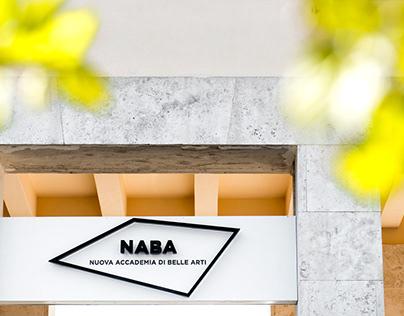 NABA Roma signage project