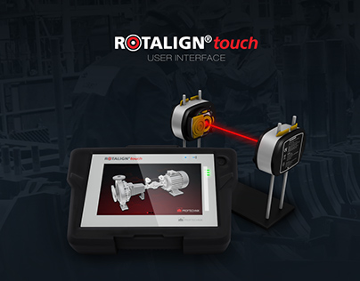 Rotalign Touch User Interface