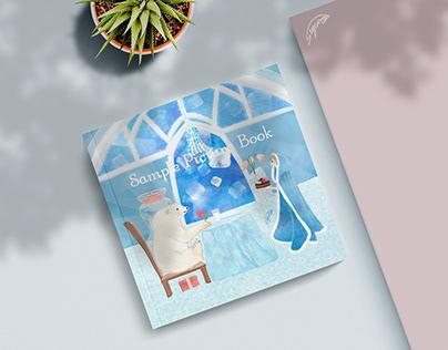 a white bear, love -A Picture Book-