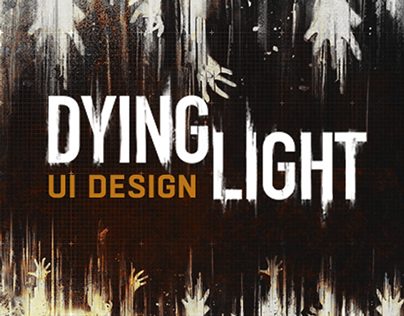 Dying Light UI Elements Design
