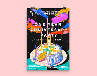 Two Tides One Year Anniversary