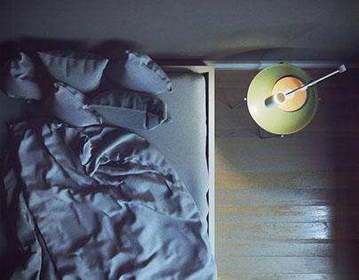 Denim Bedroom - download free 3d files