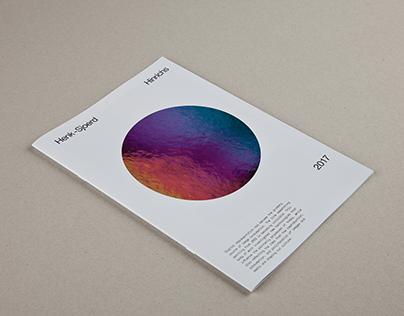 Catalogue (2017) of Henk-Sjoerd Hinrichs