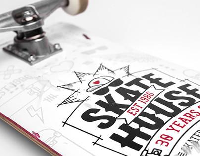 Skatehouse board design