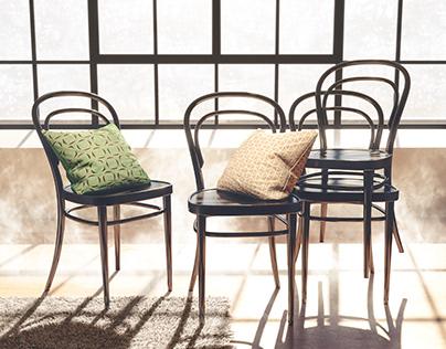 Thonet Chair N14 Vienna