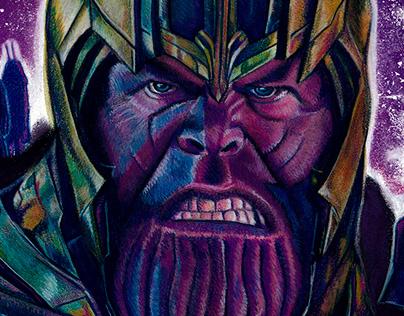 Thanos (Avengers: Endgame Poster)
