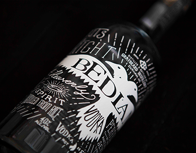 Branding & Packaging | Bedlam Vodka