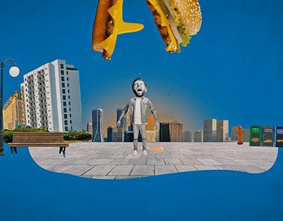 Adult Swim | Burger King | Big King XL