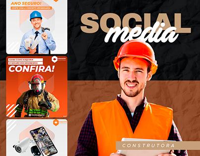 Social Media - Construtora