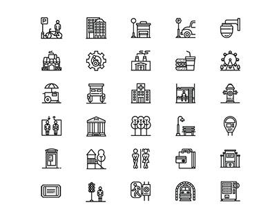 City Elements Icon