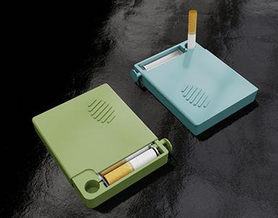 Contenedor de colillas de cigarro TIK