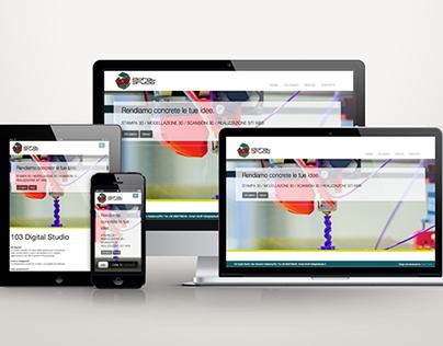 Responsive website // 103Digital Studio