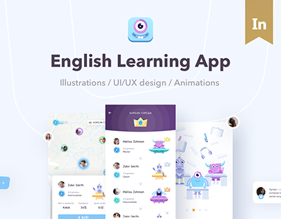 Lingvalien | Android App Design for learning english