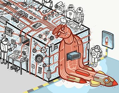 Science Magazine : illustration