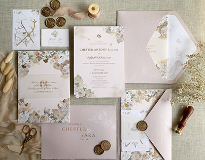 Enchanted Garden Wedding Invitation