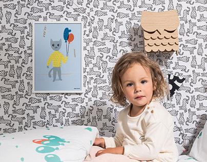 Set of illustration for kids